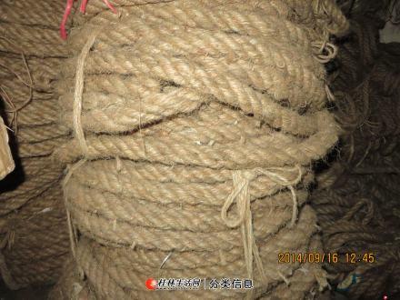 出售各式蔴绳欢迎选购