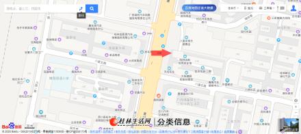 八里街灵川大道临街220㎡空门面出租(可分租),非中介