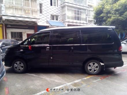全新东风8座商务车带司机出租服务