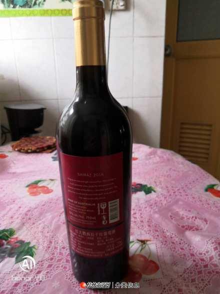 红天鹅西拉干红葡萄酒