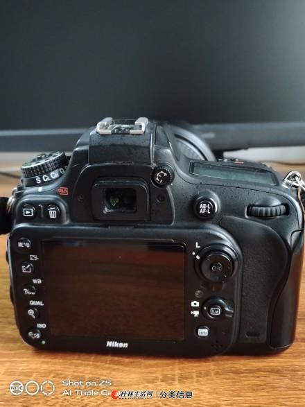尼康D610高端专业全画幅单反相机配腾龙24-70镜头