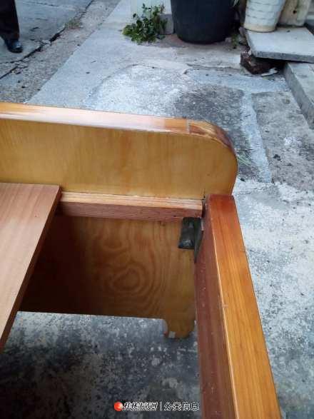 1.5米 实木大床低价转让