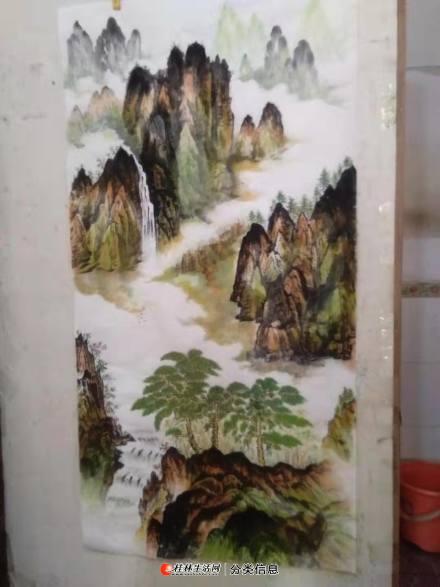桂林可诚画室中国山水画专售
