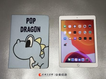 18款iPad 国行银色32G 外观有磕碰已拍出四角