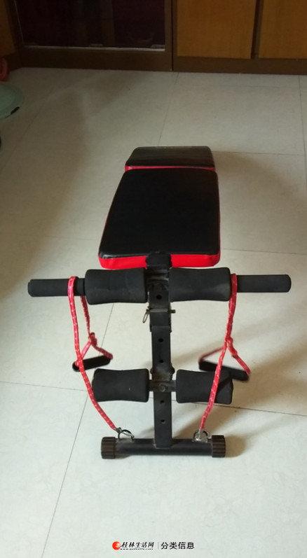 转让闲置健身器材平躺软垫