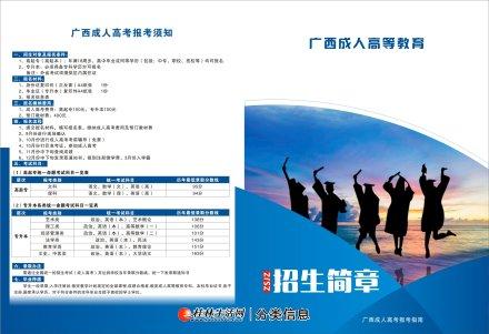 广西外国语学院成高招生简章