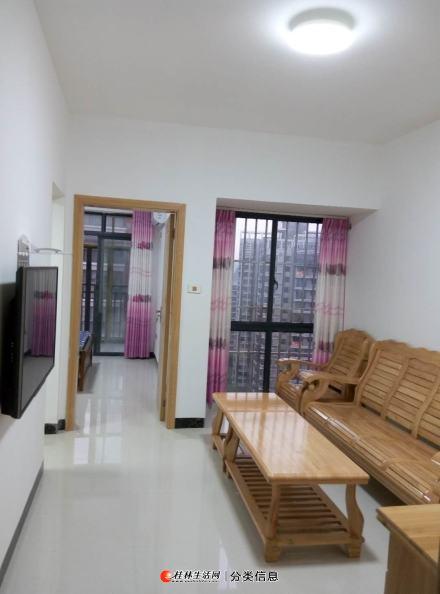金水湾境界及第苑一房一厅一卫50平米1000元精装全齐一空调