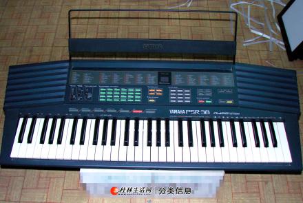 转让雅马哈电子琴日本原厂生产。61键
