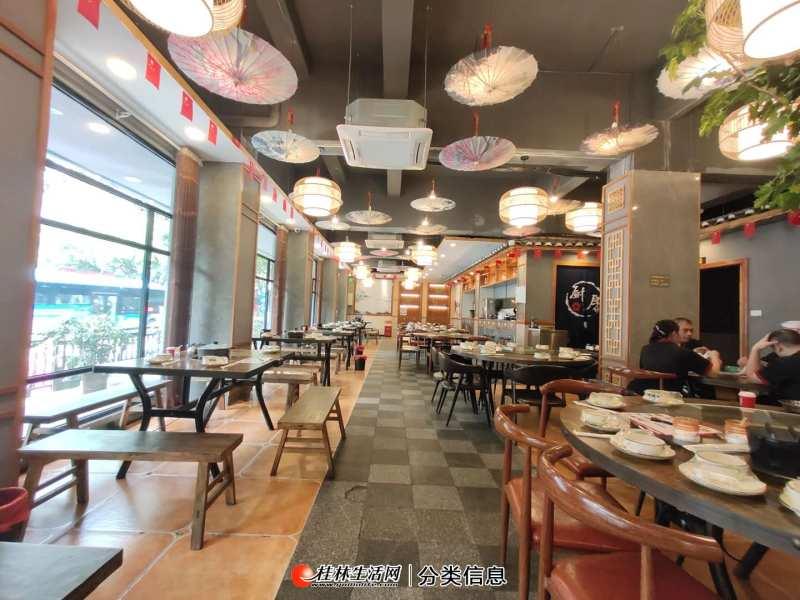 精品饭店低价转让  丽君路临街360平饭店