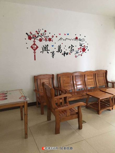 临桂香樟林3房2厅2卫1厨齐全1200元每月