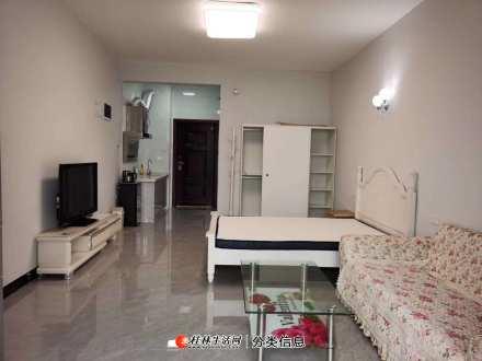 出租电梯房。万达旁,棠棣之华一房一厅,家电家具齐全,可拎包入住,租金1700一个月