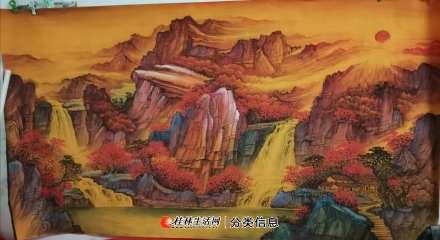 桂林中国山水画学习班招学员--美术类职业培训