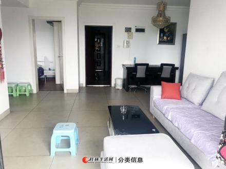 桂林站附近中央尊馆2房1厅精装修电梯高层品质小区家具电器新