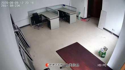 美食城110平办公室2300包水电空调办公桌宽带固话