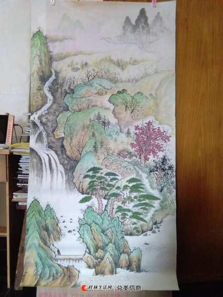 山水国画班招生--美术类职业培训 20200611