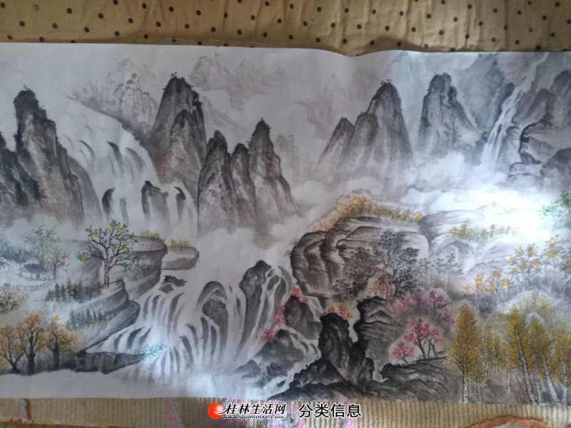 中国山水画售卖 20200617