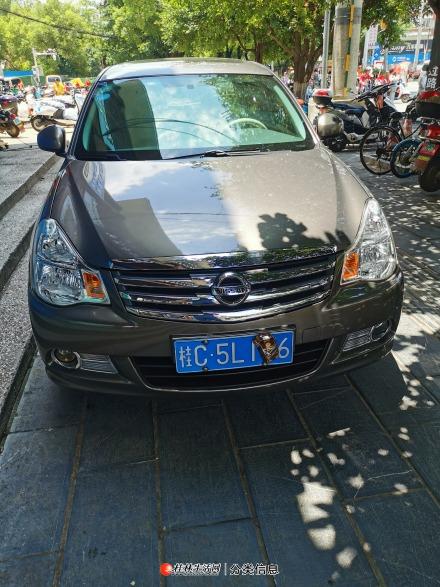 桂林市一手零过户日产轩逸17年9月上牌。