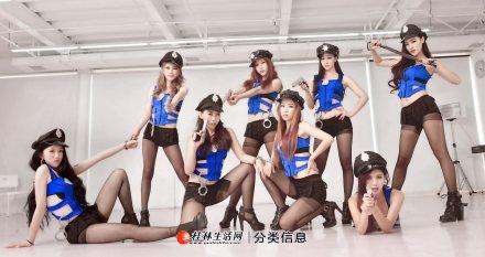桂林华翎舞蹈分校/爵士舞/钢管舞/抖音舞/TB秀