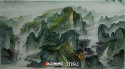 中国山水画学习班招学员--美术类职业培训 20200623