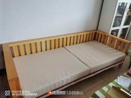 香柏年松木F04型三人沙发
