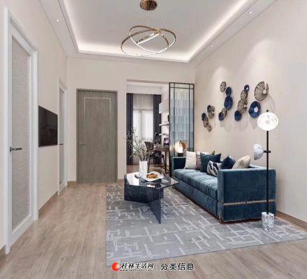 新房团购中心 棠棣之华精装公寓56平两房超高赠送扩展面积