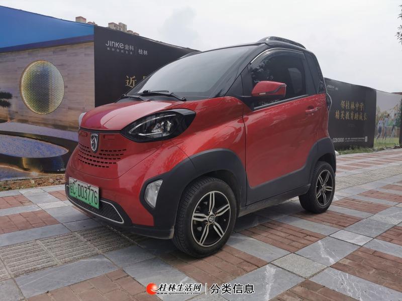 大桂林一手车18年的宝骏纯电动E100