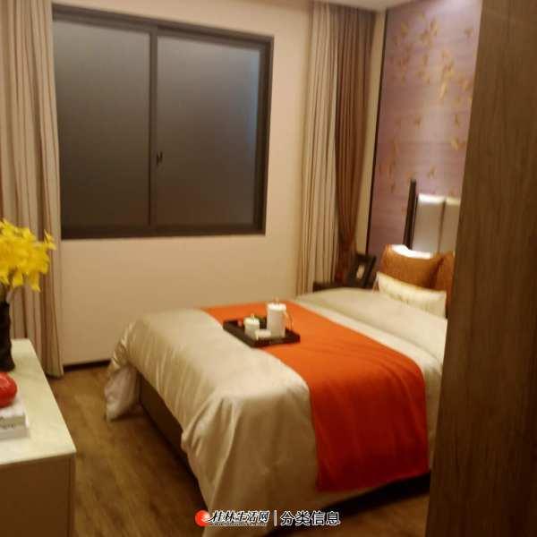 临桂区南北通透 4室2厅 123平 汇荣桂林桂林 天玺洋房