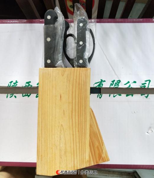 出售全新精品实木套装刀具