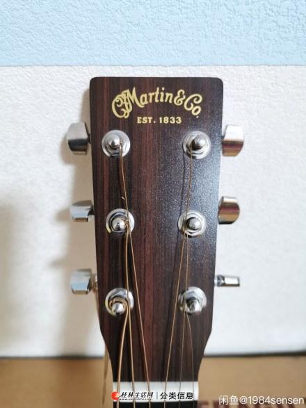 刚入的全新马丁吉他,因不是自己的菜!特价出!!