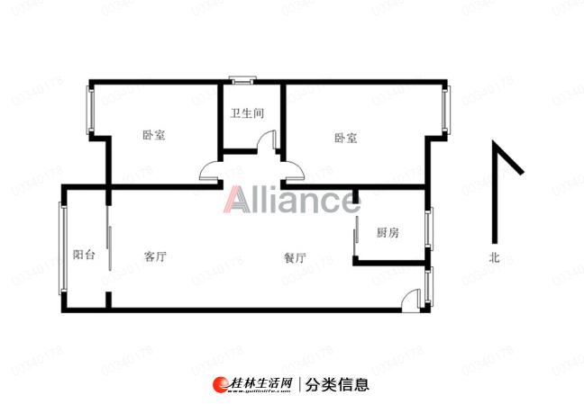 LI象山博望园,电梯8楼,户型方正,精装修,南北通透无遮挡