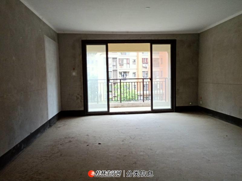 广源国际电梯高层128平毛坯三房两厅两卫业主急售108万