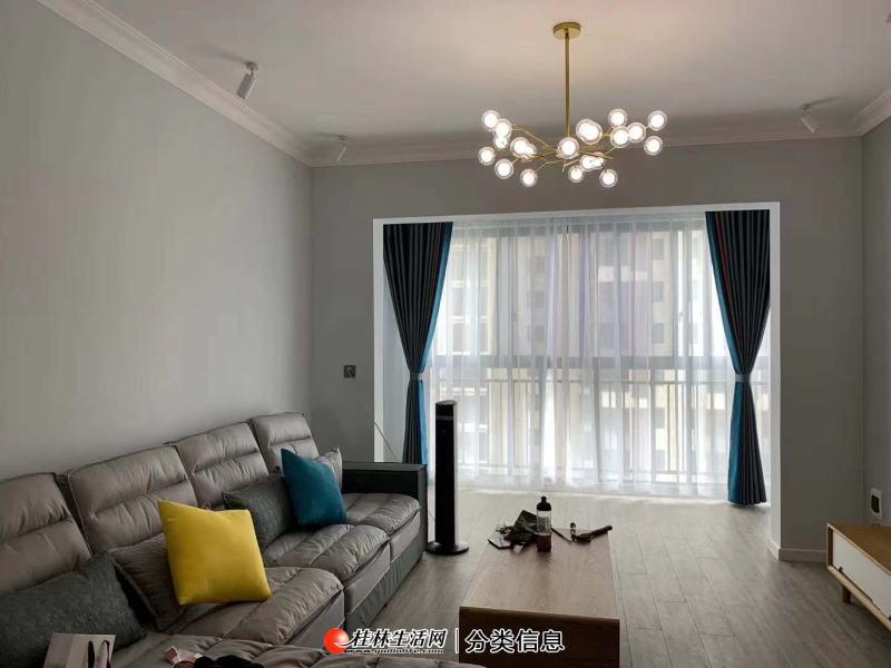 qq汇通小学 七星公园 羊角山小区2楼 精装3房 拎包入住 产90平,72万