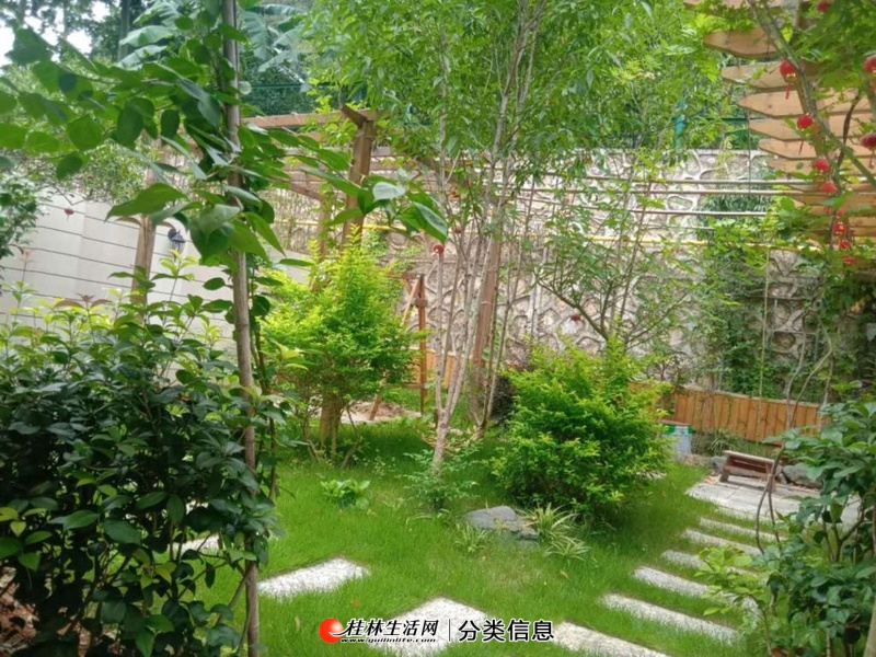 急售桂林临桂东方庭院联排别墅 负二层上三层 使用500多平只售450万 豪装 拎包入住