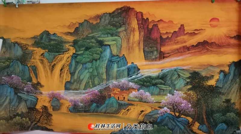 桂林《中国山水画学习班》招学员--美术类职业培训 20200724