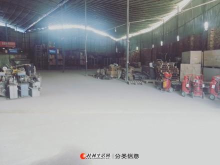1100平方钢架厂房仓库出租