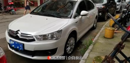 优转桂林市一手精品16年6月份私家车东风雪铁龙世嘉手动挡