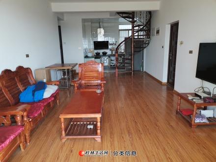 出租:合通巴比伦 9楼复式250平 家具家电空调齐全 物业费按120平计