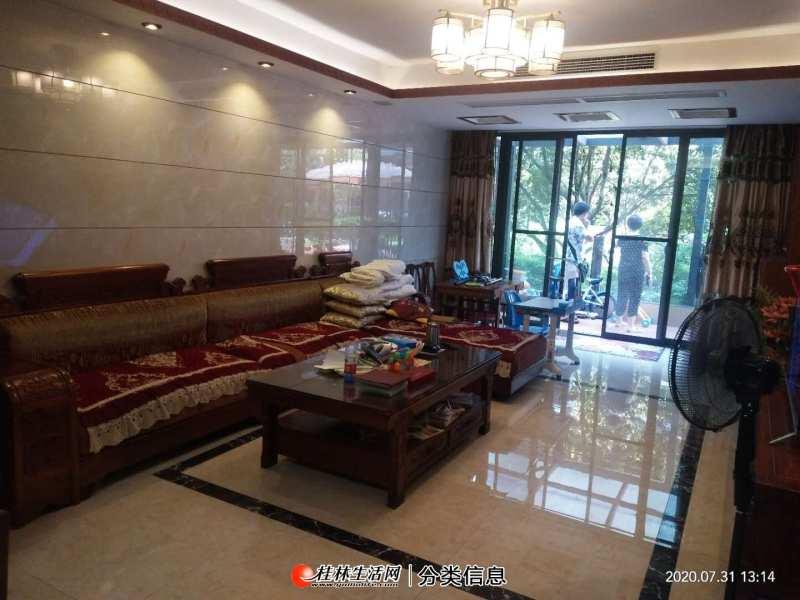 S七星区彰泰睿城精装3房2厅2卫,120平米,170万含花园,杂间,车位30万,新中式装修!