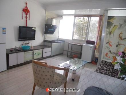 市中心西凤路信义路口桂湖花园保安小区二楼空调大一房一厅一卫租1500元