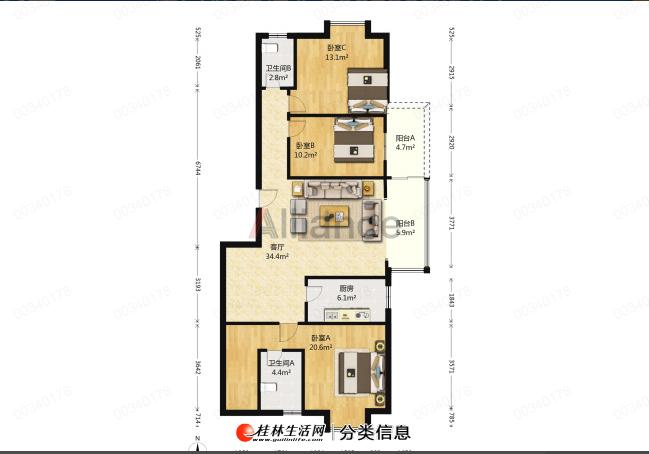 LI香江漫步,精装修,单价7100不到,电梯9楼,三面采光