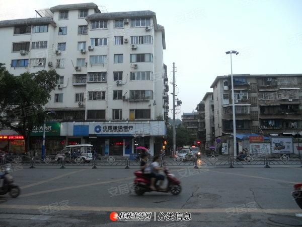 市中心丽君路建行旁二楼两台空调二房一厅一卫家电家俱齐租1200元