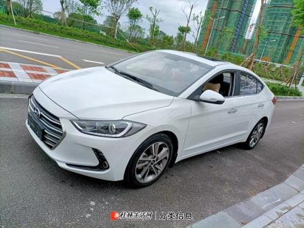 优转桂林市一手精品18年5月份私家车现代领动自动挡天窗带一键启动