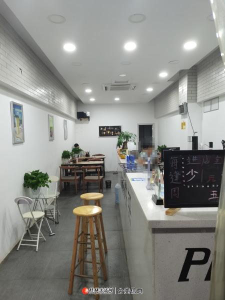 六合路奶茶店转让4千块钱一个月,空调所有设备器材完好