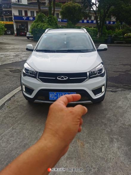 桂林市自用一手私家车瑞虎3x小越野