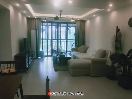 出售,花千树 楼王 精装96平3房2厅,拎包入住,家具家电全送