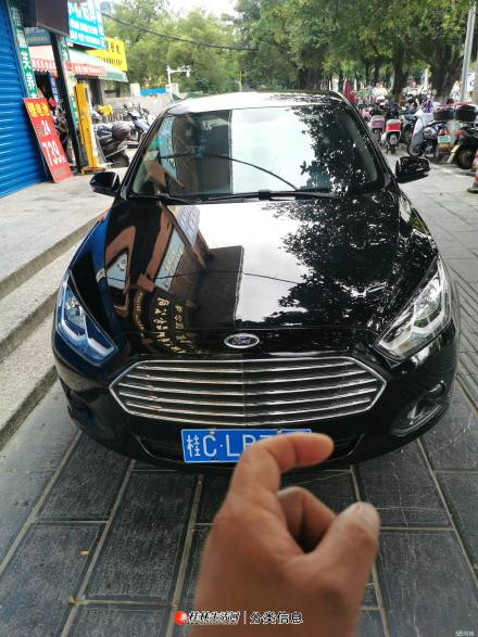 桂林市自用一手私家车福特福睿斯