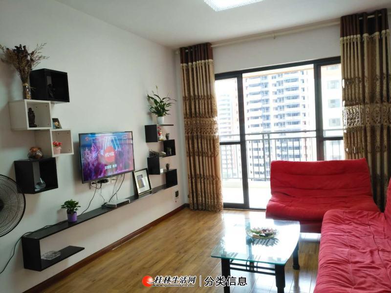 华润中央公园,电梯11楼,2房2厅1卫,85平方,家电家具齐全,月租2500元,