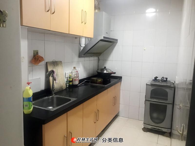 桂林站旁玻璃厂宿舍区2房1厅带家具电器很干净的房子