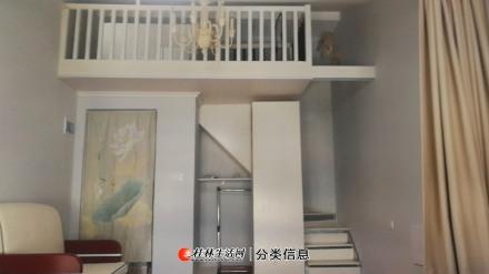 七星区水晶郦城(理工大学旁)电梯房小复式楼带大阳台大露台拎包入住1800