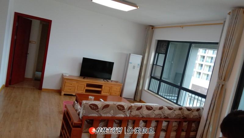 荣和林溪府悦琴电梯5楼3房2厅2卫,100平方,家电家具齐全,月租3100元